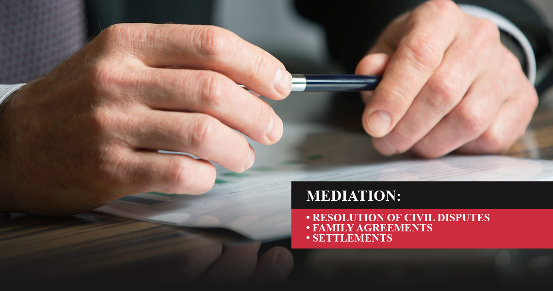 Mediation & Dispute Resolution